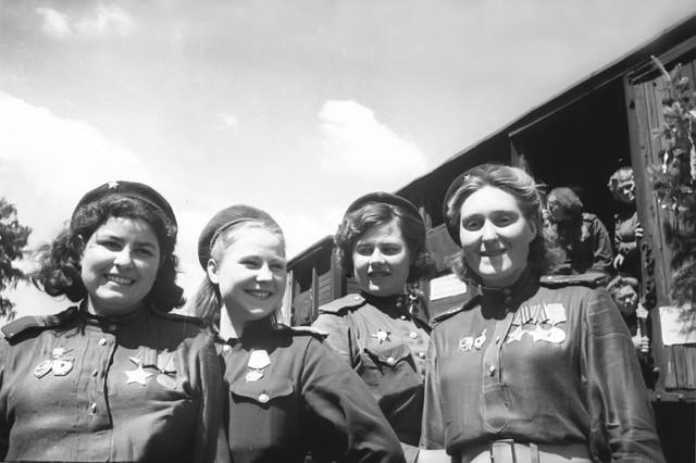 Вторая мировая Война женщины