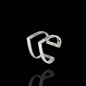 Серебряное фаланговое кольцо Стрела, фото 2