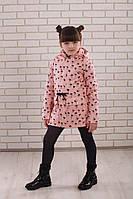 Детская модная парка 104-152