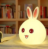 Ночник-игрушка Rabbit Silicone Lamp светильник силиконовый.
