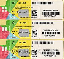 Microsoft Windows 8.1 Professional 64-bit, OEM COA (FQC-06930) RUS