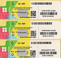 Microsoft Windows 7 Professional 64-bit, RUS, лицензионная наклейка, OEM-версия (FQC-08297) X20