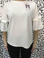 Шифоновая женская блузка
