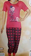 Пижама женская капри, фото 1