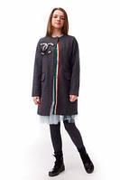 Кашемировое пальто в стиле Коко Шанель