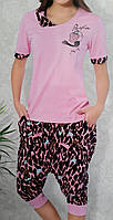 Пижама женская мода (капри)