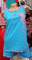 Пижама женская шорты, фото 1