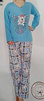 Пижама женская байка, фото 1