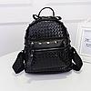 Женский рюкзак Элизабет с заклёпками 1033-1 🎁 В подарок браслет, фото 3