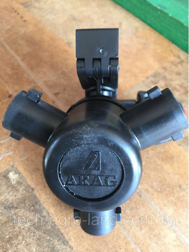 Форсунка трехпозиционная Arag (Италия) на трубу 20,25,32