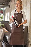 Фартук кожанный для повара, официанта и бармена TEXSTYLE