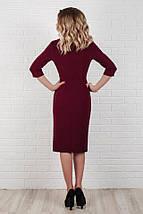 """Офисное миди-платье на запах """"Мэриел"""" с карманами (3 цвета), фото 3"""