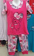 Пижама женская капри , фото 1