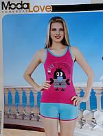 Пижама женская шорты , фото 1