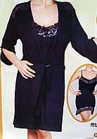 Женский халат и ночнушка , фото 1