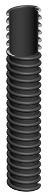 Легкий шланг для выхлопных газов, —40°С/ +170°С, 1434-10