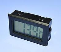 Термометр цифровой LCD -50-+70*С черный (датчик внутри)  TPM-10