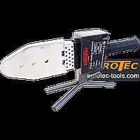 Паяльник для ПВХ труб 50-300°C, 20-63 мм, сварочный аппарат пластиковых полипропиленовых труб Eurotec PW 101