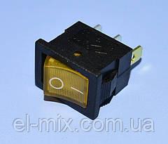Выключатель  12В  МК-1011 желтый 1-группа ON-OFF  PRK0020E
