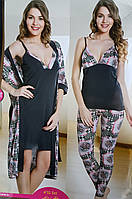 Женский халат пижама и ночнушка , фото 1