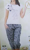 Пижама женская трикотажная, фото 1
