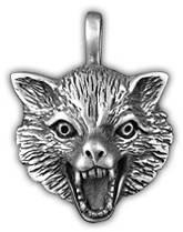 """Амулет защитный тотем """"Знак волка"""""""