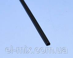Трубка термоусадочна D1.5/d0.75 чорна L-1м VW-1 NAR0242