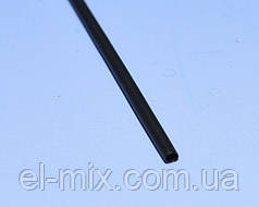 Трубка термоусадочная  D1.5/d0.75 черная L-1м VW-1  NAR0242