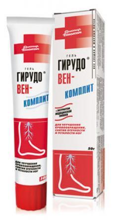 ДБ ГирудоВЕН-Комплит гель 50г Биокон