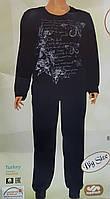 Пижама женская велюр большого размера, фото 1