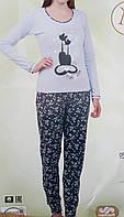 Пижама женская хлопок, фото 1
