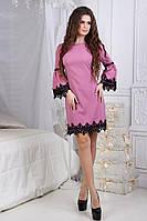 Платье пышный рукав в расцветках 24123, фото 1