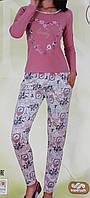 Пижама женская плотный трикотаж