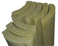 Циліндри мінераловатні базальтові без покриття