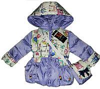 Детские весенние куртки для девочек., фото 1