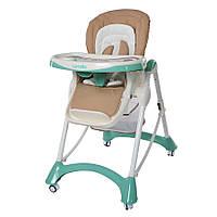 Детский стульчик для кормления CARRELLO Caramel CRL-9501/2 зеленый