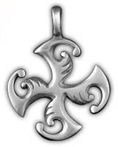 Амулет защитный Крест Гаммата