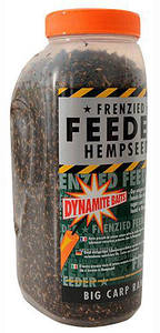 Зерновая прикормка DYNAMITE BAITS Frenzied Feeder Hempseed Original, 2.5l