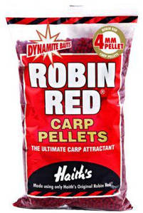 Пеллетс DYNAMITE BAITS Robin Red pre-drilled 8mm 900g