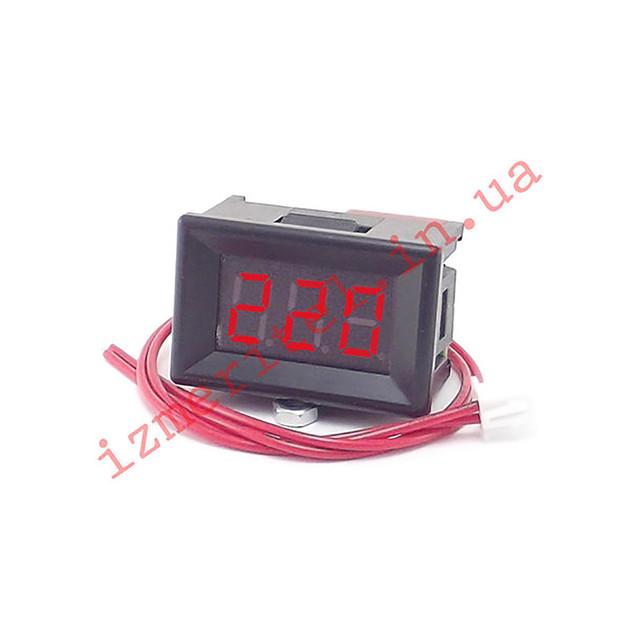 Цифровой вольтметр 0.36 AC 75-300 В