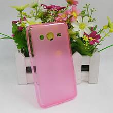 Силіконова Накладка для Samsung G355 Core2 рожева