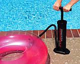 Ручной насос для надувания Intex 68605, 3 л, размер 37 см, универсальный, фото 3