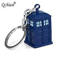"""Необычный брелок для ключей или на рюкзак """"Тардис""""!"""