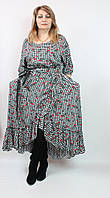 Оригинальное платье из вискозы Darkwin (Турция),рр 52-62