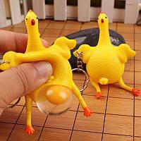 """Необычный брелок для ключей или на рюкзак """"Курица""""!, фото 1"""