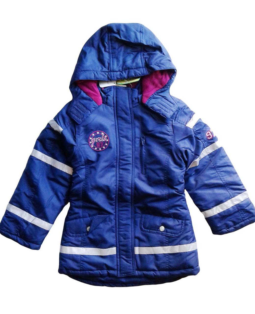 Куртка на флисе для девочки, Pepperts, размеры 122,128,134,140,146 , арт. Л-419