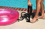 Ручной насос для надувания Intex 68612, размер 30 см, объем 1.5 л, фото 7