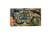 Детский военный набор (автомат, каска, фляга, бинокль, фонарик и др.) 33470