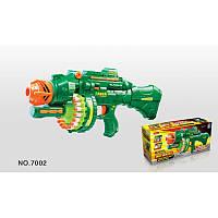 Игрушечное оружие Пулемет 7002 с мягкими пулями на звуковыми эффектами