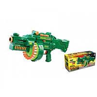 Пулемет с мягкими пулями, на батарейке, в коробке(Бластер) 7002